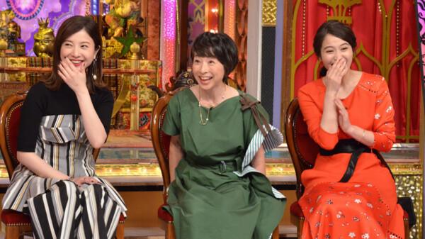 徳井と後藤と麗しのSHELLYと芳しの指原が今夜くらべてみました ゲスト:吉高由里子/阿川佐和子/広瀬アリス