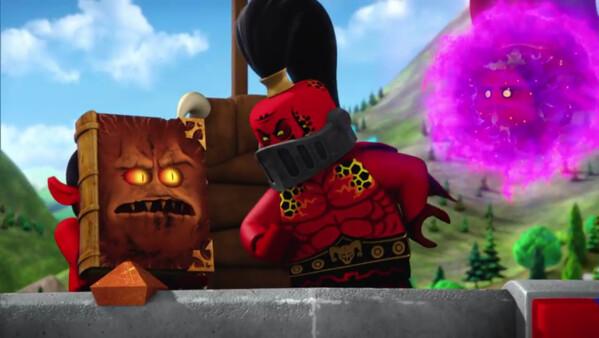 レゴ ネックスナイツ 最恐最悪! モンスターの書の正体