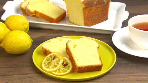 キユーピー 3分クッキング 2018年 2018/3/10 放送 フレッシュレモンのパウンドケーキ