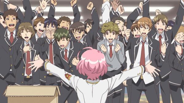 美男高校地球防衛部HAPPY KISS! シーズン1 第5話 HAPPYに美しく