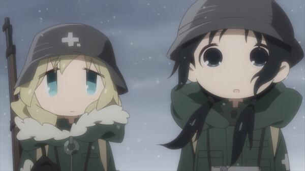 少女終末旅行 シーズン1 第11話 文化/破壊/過去