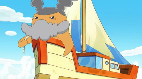たまごっち! ~ラブリーたまとも編~ シーズン1 第35話 海の男! キャプテン号っち来航/タラララララーン! ラブパパリっちの珍メニュー