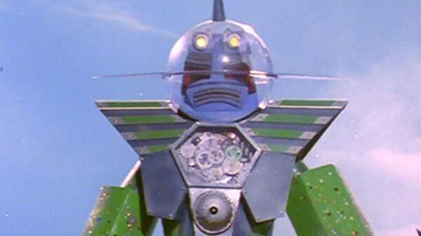 スーパーロボット マッハバロン ガラスのスーパーロボット