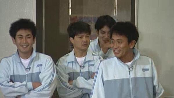 ダウンタウンのガキの使いやあらへんで! 絶対に笑ってはいけない/罰ゲーム シリーズ 2000年 第1話 浜田チーム 体育館で24時間鬼ごっこ!