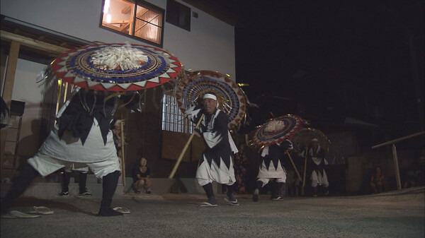 新ふるさと百景 受け継がれる傘踊り ~鳥取市横枕~