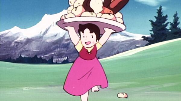アルプスの少女ハイジ 白パン