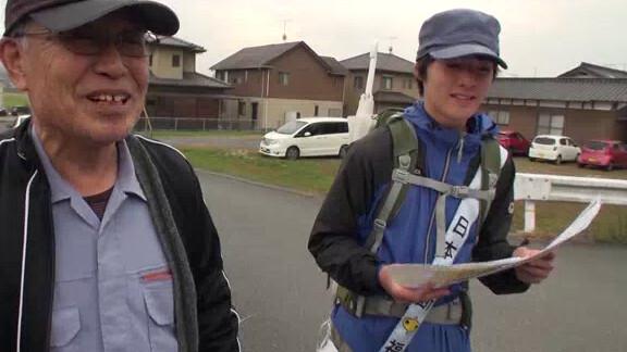 日本縦断 龍儀の歩く旅 山口編 その2