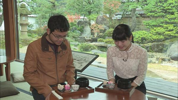 What's!? さんいん お茶と和菓子めぐり・島根県松江市