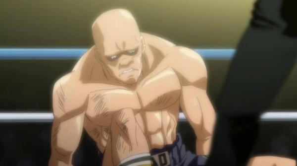 はじめの一歩 New Challenger 一歩 vs ハンマー・ナオ