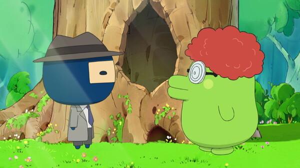 たまごっち! ~ハッピーハーモニー編~ シーズン1 第2話 まめっちのヒミツをみはるでござる/ふわふわ! つくろうたまシュマロ