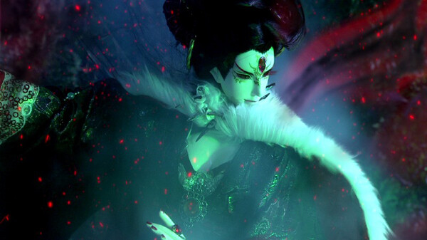 Thunderbolt Fantasy 東離劍遊紀 シーズン1 第3話 夜魔の森の女