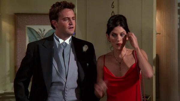 フレンズ シーズン5 第1話 (字) ロスの結婚式、その後…