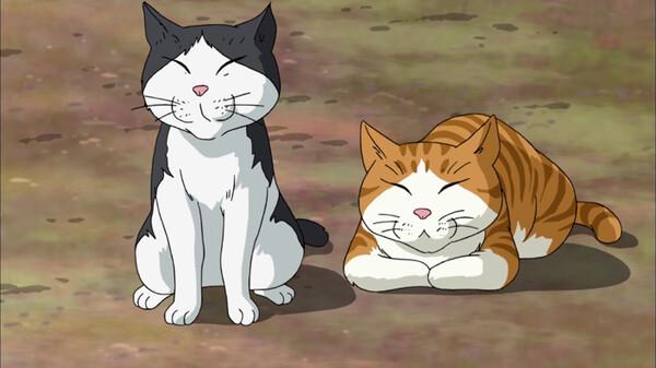 ふるさと再生 日本の昔ばなし 小僧とネコの絵