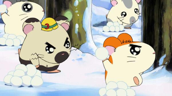 とっとこハム太郎 シーズン1 第27話 とっとこ元気に! 雪合戦